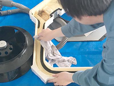 エアコンクリーニング 内部清掃